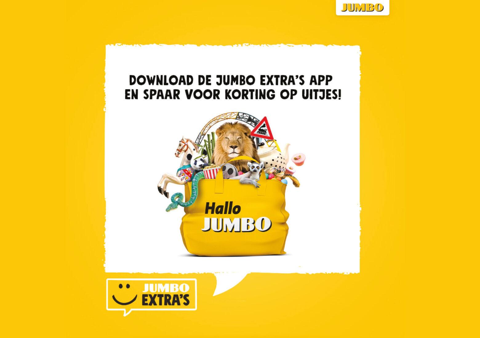Jumbo Extra's spaar voor korting