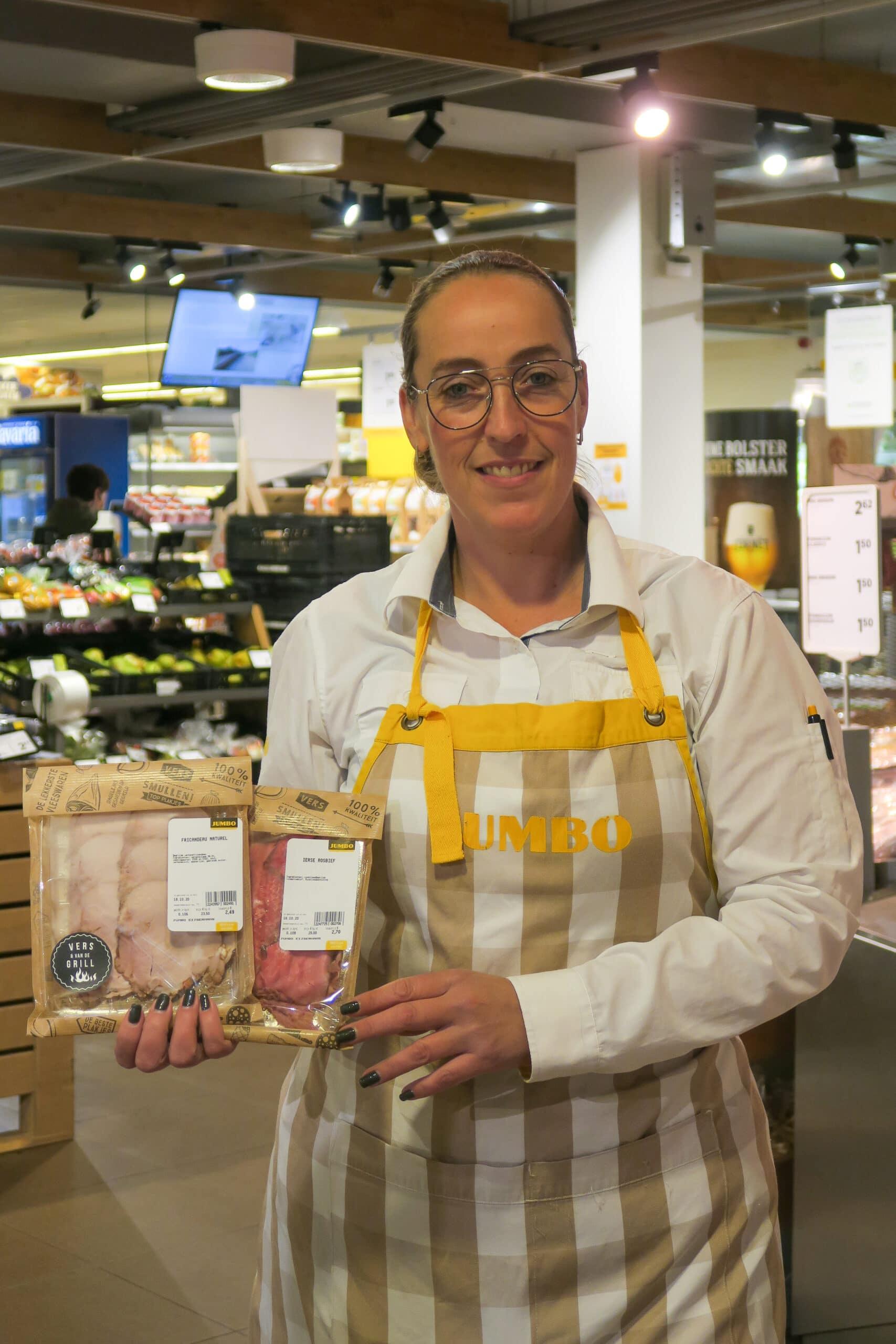 Tessa, leidinggevende bakkerij en versplein Jumbo Eijsermans in Zeeland (Landerd)