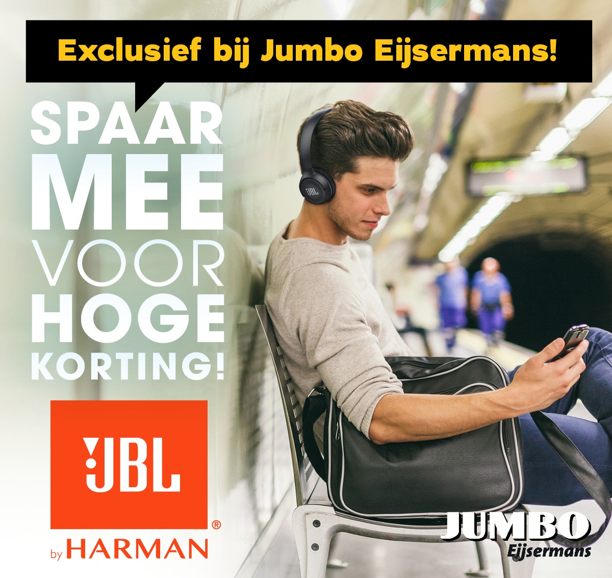 Spaaractie JBL Jumbo Eijsermans