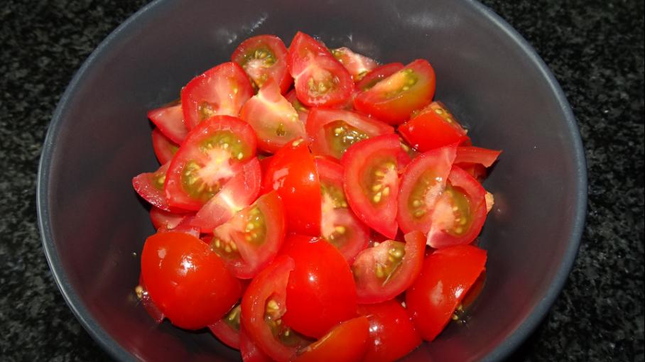 Eenpansgerecht tomaatjes Koken met Pien Jumbo Eijsermans